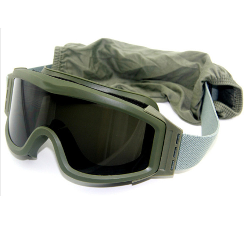 Large Frame Eye-protection Goggles Tactical Goggles Windproof Sand Impact Resistance Yue Ye Jing Windproof Motorcycle Glasses Fo