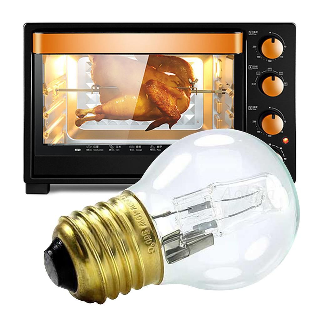 Hot Sale 110-250V High Temperature 40W 300 Degree SES E14 OVEN Toaster/ Steam LIGHT BULBS / COOKER HOOD LAMPS