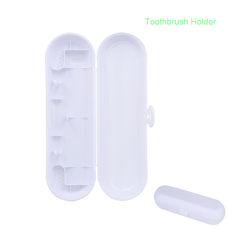 PP Toothbrush Travel Case Protector Case for Braun Oral-B Philips Bayer Portable Tooth Brush & Brush Heads Holder Travel Kit image