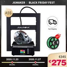 JGMAKER A5S 3Dเครื่องพิมพ์กรอบโลหะ305*305*320มม.พิมพ์ด้วยSD Cardแหล่งจ่ายไฟอัพเกรดJGAURORA