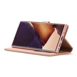 Image 5 - جراب هاتف جلدي مع رفرف ، حافظة فاخرة لهاتف Samsung Galaxy S8 S9 S10 S20 Plus S10E Note 20 Ultra Note 10 Note 9