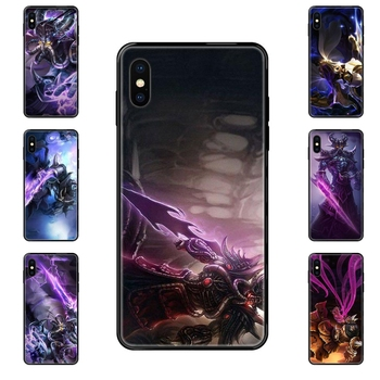 Collection Lol The Void Walker Kassadin For Galaxy S5 S6 S7 S8 S9 S10 S10e S20 edge Lite Plus Ultra Black Soft TPU Phone Case image