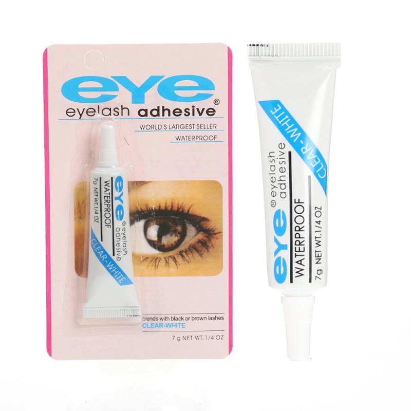 New Professional Eyelash Glue Clear Blue Waterproof Eye Lash Glue False Eyelashes Makeup Adhesive Cosmetic Extension Tools TSLM1