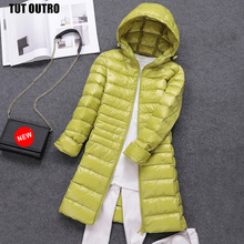 7XL Womens Packable Down Coat Lightweight Plus Size Puffer Jacket Hooded Slim Warm Outdoor Sports Travel Parka Outerwear