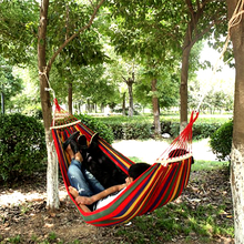 Canvas Bedroom Hanging Hammock Lazy Chair Adults Kids Indoor Portable Relaxation Thickened Outdoor Swing Travel Camping