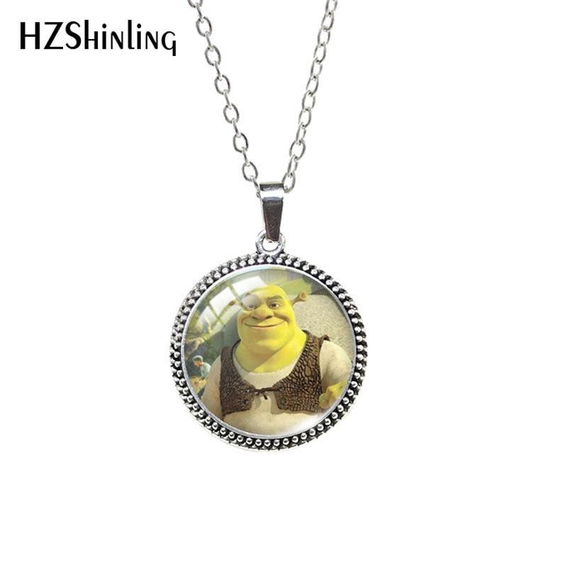 2020 collana antica cartone animato Cabochon in vetro collana Cabochon gioielli pendenti retrò 1