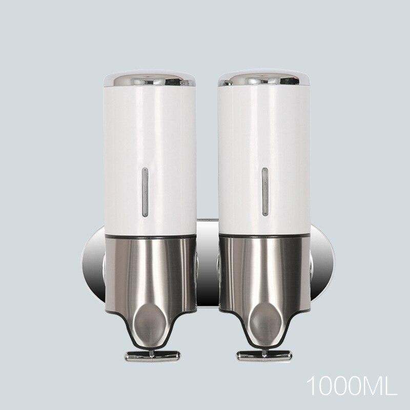 Image 4 - 500ml Liquid Soap Dispenser Wall Mount Bathroom Accessories Hand  Sanitizer Detergent Shampoo Dispensers Kitchen Soap BottlePortable Soap  Dispensers