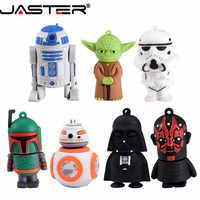 JASTER USB Pendrive star Wars Yoda/Darth Vader Flash Drive 4GB 8GB 16GB 32GB 64GB Pen drive USB 2.0 Regali Chiavetta USB Cle USB