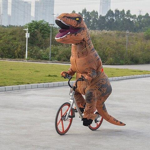 t rex ure ure traje inflavel da mascote