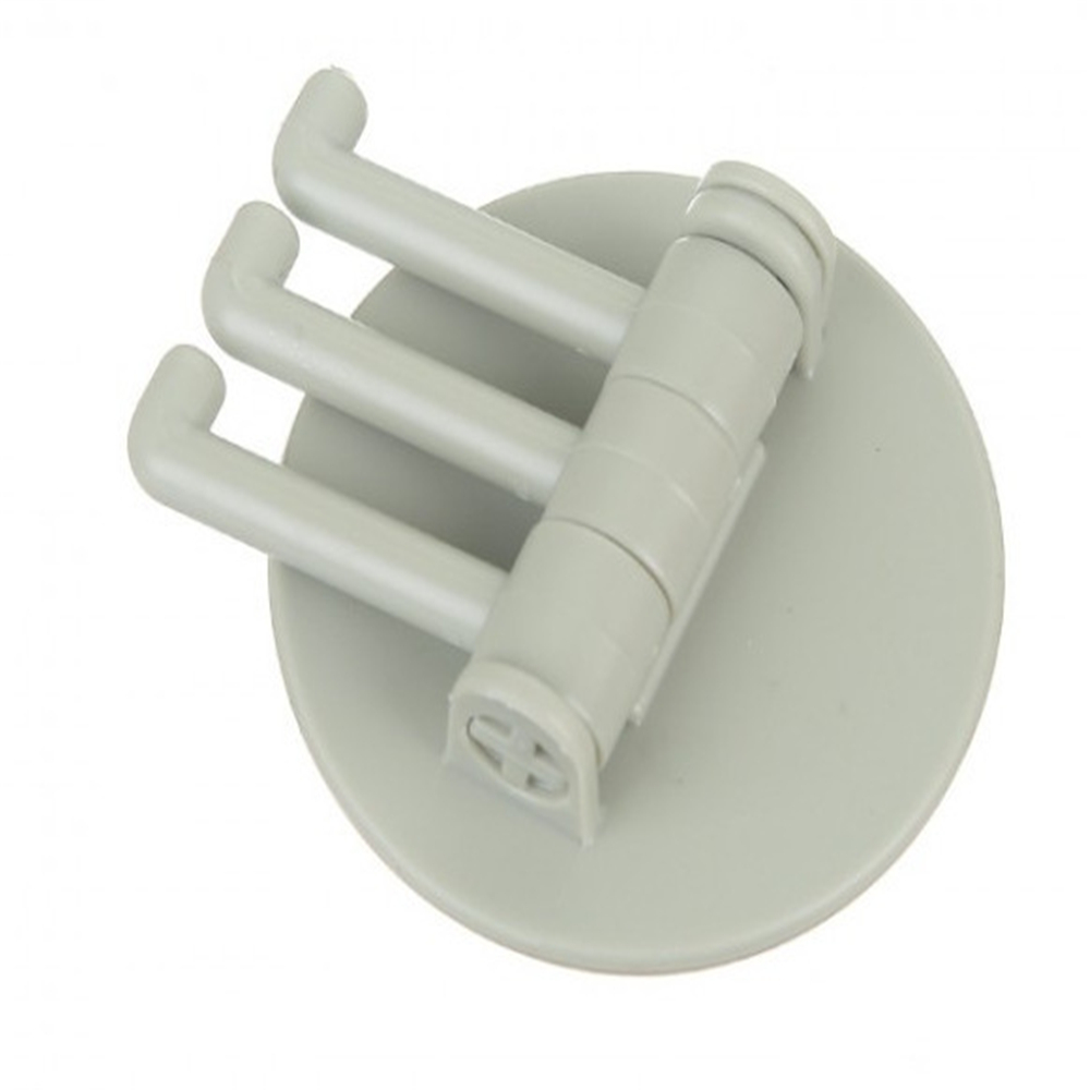 5 кг нагрузка бесшовный клейкий крючок вращающийся сильный подшипник палка крюк кухонная настенная вешалка Ванная комната Кухня крючки - Цвет: Светло-зеленый