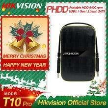 Hikvision HikStorage Portable Hard Disk Drive 1TB External HDD 2TB USB3.1 Gen1 Mobile High-speed External Storage for PC laptop