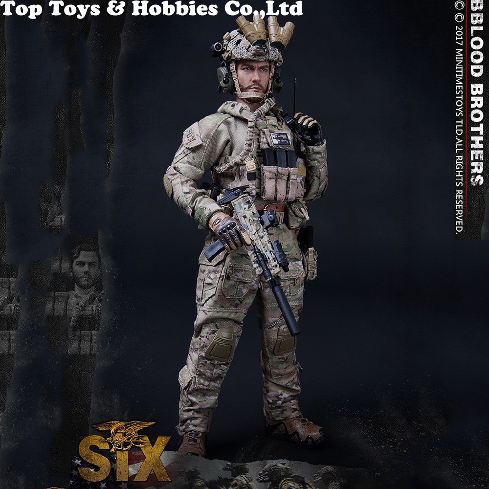 mini times toys M005 M010 M011 M012 M013 M014 1/6 Navy Special Forces Seal Team  Figure Full Set Collection Doll Toys Gift