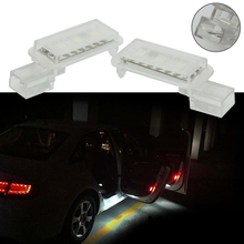 Porta do carro led aviso lâmpada com segurança flash luz anti collid sinal de luz para audi a3 a4 a5 a6 a7 a8 q3 q5 q7 r8 rs4 rs5 rs6 rs7