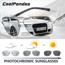 CoolPandas Brand Design Square Sunglasses Men Women Polarize