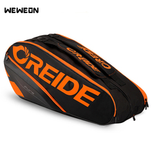 Badminton-Backpack Tennis-Bag Racquet Rackets Sport-Cover with Shoes Bulk-Storage Waterproof