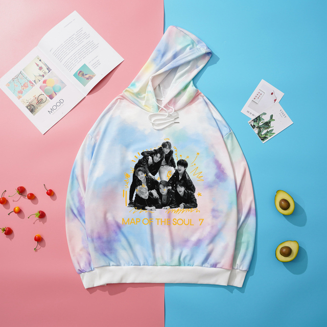 MAP OF THE SOUL:7 THEMED HOODIE (8 VARIAN)