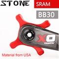 Камень кольцо для BB30 до 104 BCD адаптер паук конвертер XX1 X01 X9 X0 один 104bcd узкий широкий зуб 0 мм смещение для sram