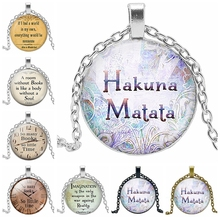2019 New Hot Sacred Biblical Pattern Series Glass Convex Round Pendant Necklace Fanatics Lovers Jewelry Gifts