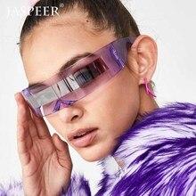 JASPEER Trendy Rimless Sunglasses Women 2019 Luxury Brand De
