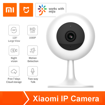 Xiaomi IP Camera Wifi Wireless CCTV Camera Infrared Night Vision Baby Monitor for Mi Home App image