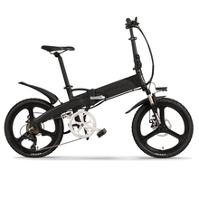 LANKELEISI G660 electrical bike Foldable 400W 20inch electrical bicycle 48V 13Ah Hidden Battery Pedal Help Folding Electrical eBike