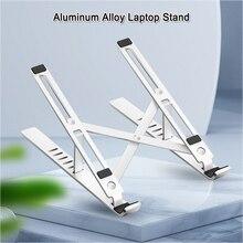 Laptop-Stand Adjustable Support Macbook Desktop iPad Aluminum-Alloy Pro Air 6-Angle Office
