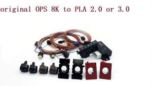 Оригинальный OPS, передний и задний радар 8K, обновленный, интеллектуальная помощь при парковке, помощь при парковке, PLA 2,0 или 3,0 12K для V W LHD Golf 7 ...
