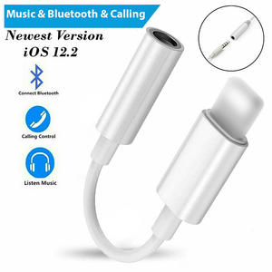 Headphone Connector Audio-Splitter Aux-Cable Lightning-Type-C Xr-X-Adapter For iPhone