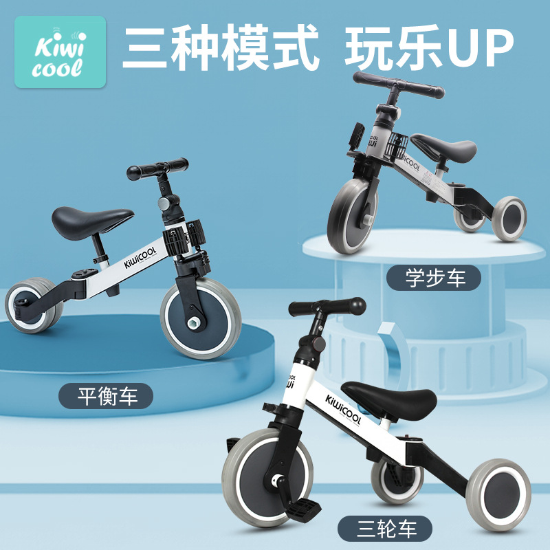 3 in 1 multifunctional children's tricycle baby toy scooter balance bike folding bicycle for 1-6 years old birthday Gifts