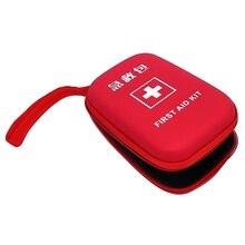 1 cor à prova dwaterproof água ao ar livre família portátil pequeno kit de primeiros socorros terno carro da família viagem acampamento firstaid kit emergência