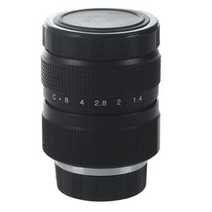 Image 1 - Television TV Lens/CCTV Lens for C Mount Camera 25mm F1.4 in Black