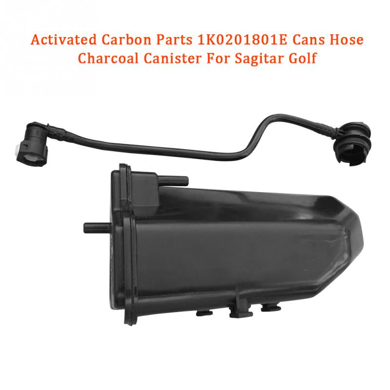 Activated Carbon Parts <font><b>1K0201801E</b></font> Cans Hose Charcoal Canister For Sagitar Golf image