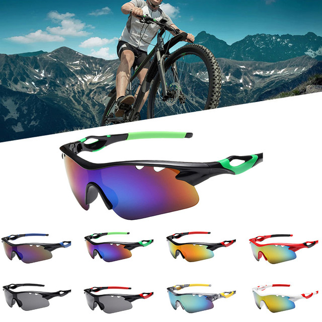 Esporte óculos de sol das mulheres dos homens ciclismo óculos para bicicletas esportes eyewear mtb correndo óculos de ciclismo 1