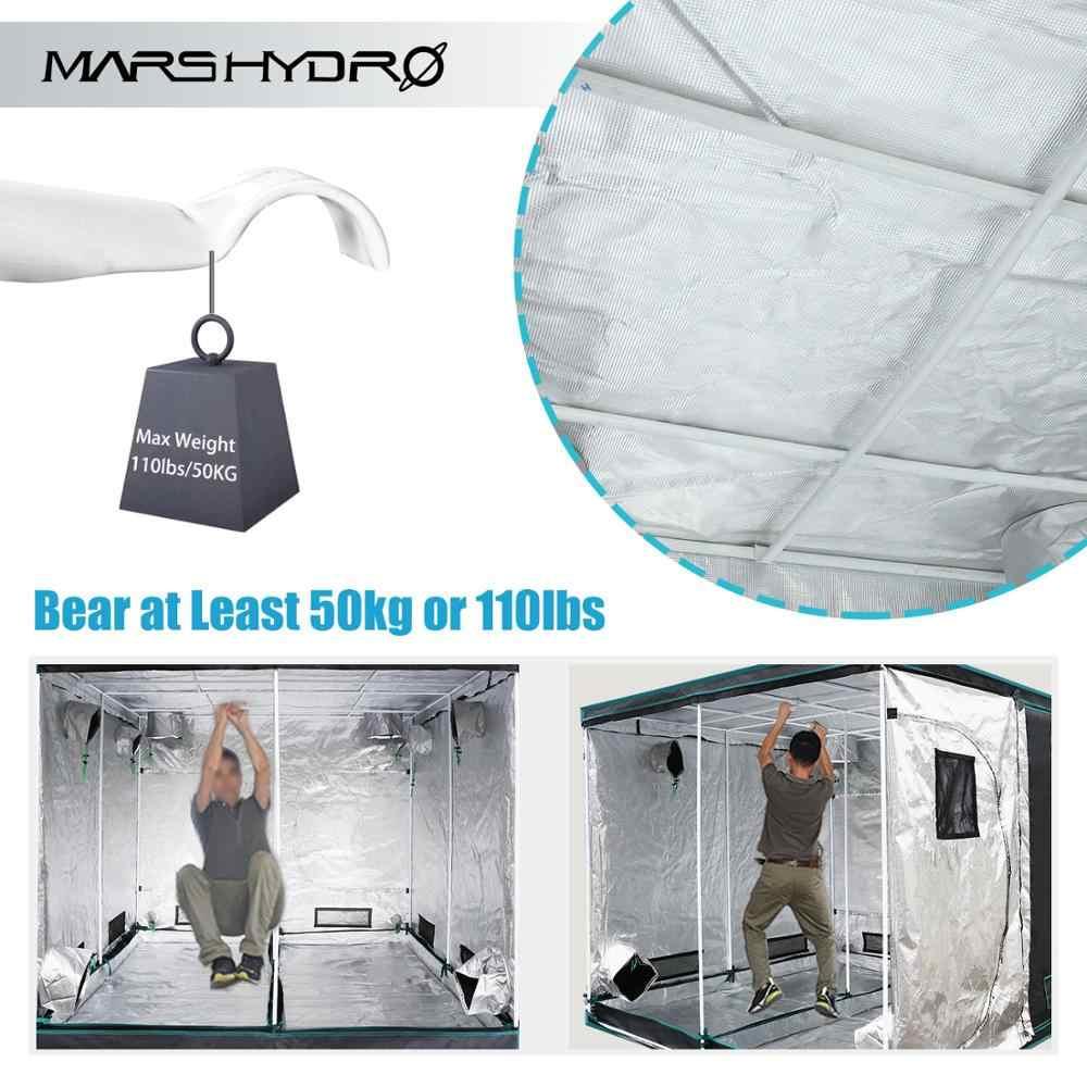 1680D Mars Hydro Крытый светодиодный тент для выращивания комнатные для выращивания системы 150X150X200 см нетоксичное растение комнатный Крытый сад Водонепроницаемая хижина