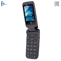 Mobile Phones F+ Flip1 cellular phone cellphone Flip 1 2.4'' 240х320 260MHz 1 Core 32MB RAM 32MB ROM 0.08Mpix 2 Sim Micro USB 750 mah F