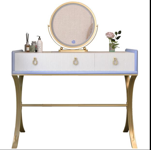 Dressing table bedroom small unit make-up table storage cabinet integrated modern simple net red dressing table