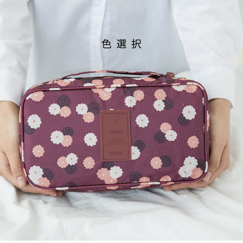 Travel Necessity Accessories Cosmetic  Lingerie Bra Travel  Storage Bag Luggage Suitcase Pouch Zip Cases  Bra Underwear Lingerie