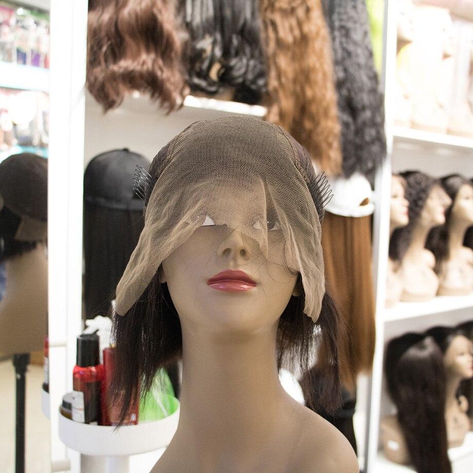MALAIKA короткие кудрявые кружевные передние человеческие волосы парики с детскими волосами предварительно выщипанные Remy бразильские
