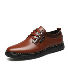 New Adult Middle Aged Men Shoes Formal Dress Wedding Leather