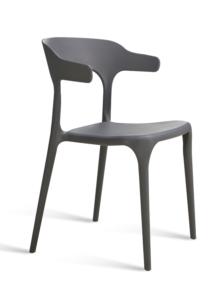 Nordic Plastic   dining chair Modern Simplicity Stuhl Leisure Originality With Backrest Dining Chairs For Dining Rooms