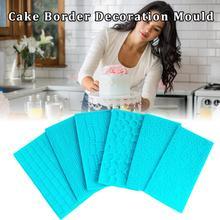 6 шт., высококачественные брюки для женщин, набор формочек для облицовки стен, штампы для кексов, наружное декорирование, кухонные принадлежности