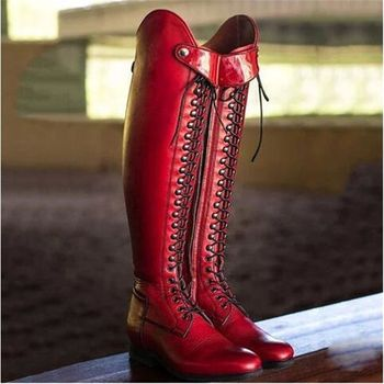 Womens Equestrian Riding Boots 4