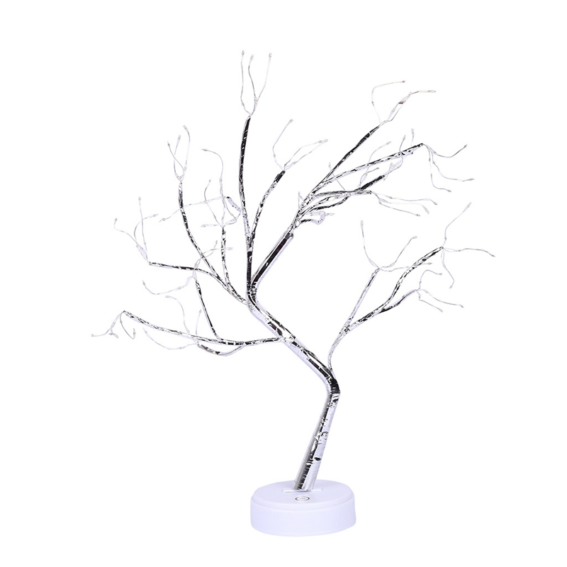 108 Leds Desktop Bonsai Tree Light White Branches Gypsophila Lights Home Party Wedding Indoor Decoration