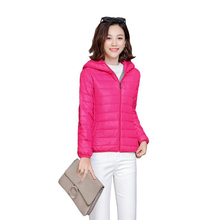 2019 New Womens Plus Size Winter Jackets And Coats Outerwear solid Hooded Cotton jacket Female Slim Cotton padded basic tops цены онлайн