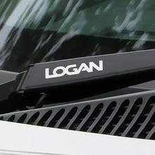4PCS Funny Car Stickers For Renault Dacia Logan Window Wiper Reflective Sport Decals Vinyl Waterproof PVC Automobile Accessories