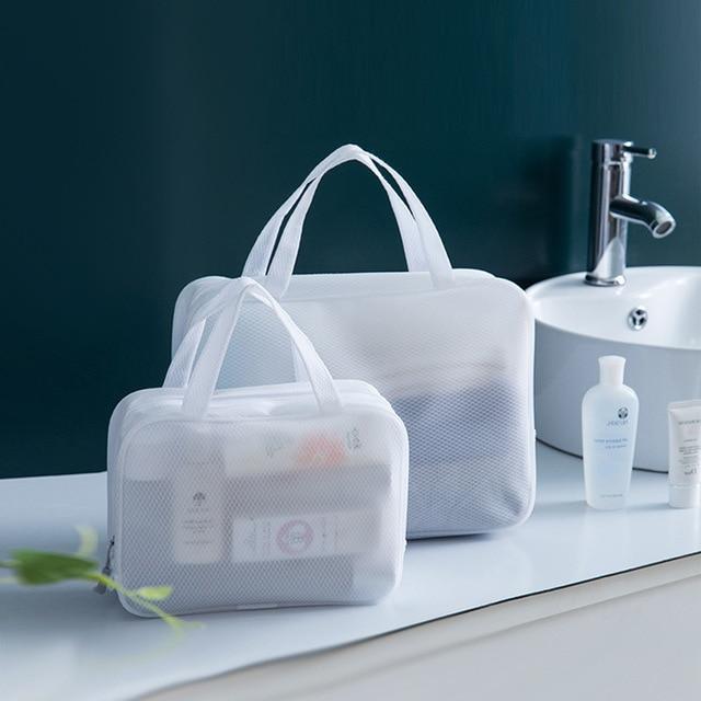 Large-capacity Simple Cosmetic Bag Wash Bag Eva Transparent Waterproof Cosmetic Bag Multi-function Portable Travel Storage Bag