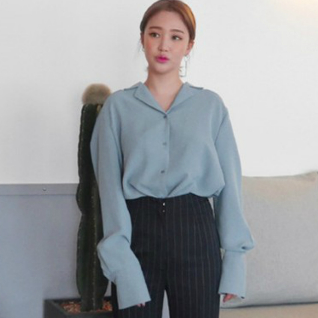 Womens Tops And Blouses Solid White Chiffon Blouse Office Shirt Blusas Mujer De Moda 2021 Long Sleeve Women Shirts Clothes A405 5