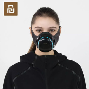 Image 1 - Youpin Hootim Elektrische Anti Waas Steriliseren Masker Biedt Actieve Air Supply Elektrische Masker Voor Herfst Winter Fog