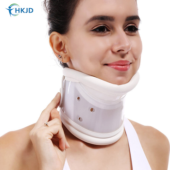 Medical Cervical Neck brace Collar with Chin Support for Stiff Relief correct neck support pain Bone Care health