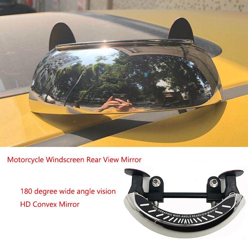 Motocykl szyby 180 + stopni Blind Spot lustro szerokokątny lusterka wsteczne bezpieczeństwa pomocnicze lusterko wsteczne dla BMW HONDA